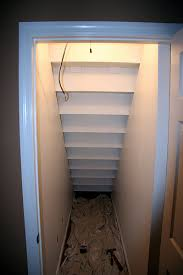 Just finished closet under stairs, need advise for storage / shelves