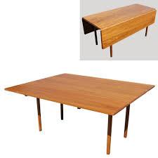 Danish Modern Dining Table Danish Mid Century Modern Drop Leaf Dining Table Ebay