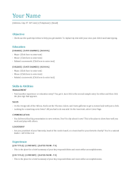 15 Unique Popular Resume Formats Most Format Late Sevte