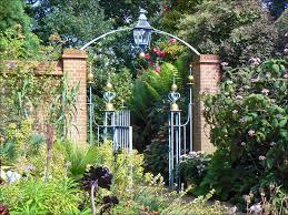 entrance gates east ruston garden entrance courtyard
