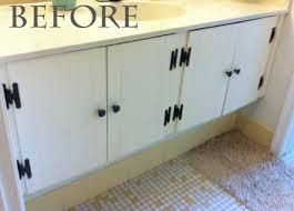 bathroom cabinet redo. Bathroom Vanity Redo Cabinet B