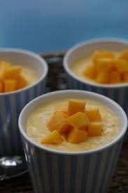 summer mango flummery