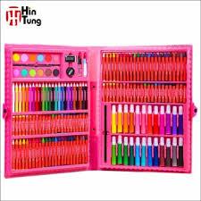 coloring set. Simple Set 168pcs PVC Case Coloring Art Set For Kids For Coloring A