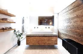 Badezimmer Design Holz