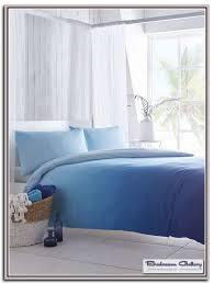 blue ombre bedding