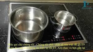 Sửa bếp từ AEG lỗi E9 triệt để - Phủ mạch cách ẩm - YouTube