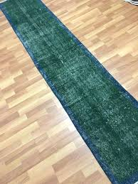 green rug runner dark green navy colors decor by blue green rug runner
