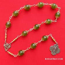 st raphael the archangel chaplet beads