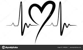 Tlukot Srdce Tvar Obrázku černá Stock Vektor Greenoptix 141892442