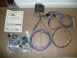 ez wiring 12 standard fuses harness universal street hot rod chevy image is loading ez wiring 12 standard fuses harness universal street
