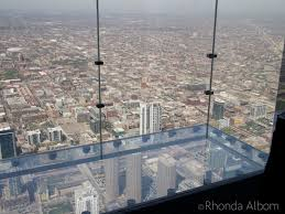 skydeck chicago ledge on 103 floor in the willis tower chicago