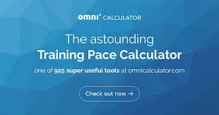 Training Pace Calculator Running Pace Omni