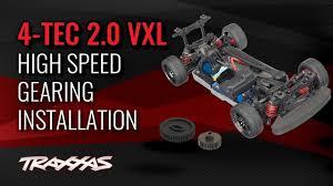 Traxxas 4 Tec 2 0 Gearing Chart 70 Mph High Speed Gearing Installation Traxxas 4 Tec 2 0 Vxl