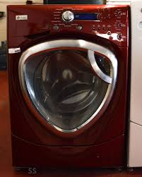 Ge Profile Washing Machine Repair Ge Profile 42 Cu Ft Front Load Washer Red Ss Appliance Repair