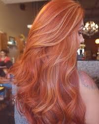 Zvýraznění Na červené Vlasy Trendy 2019 Foto