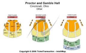 Procter Gamble Hall At Aronoff Center Tickets And Procter