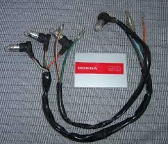 teleflex tach wiring harness on popscreen honda cb350 cl350 sl350 tach speedo gauge lamps wire harnesses bulbs very nice