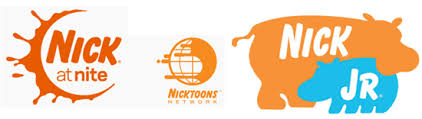 some of the variety of nick logos