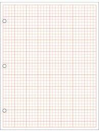 17 X 22 Graph Paper 1 4 Sq