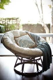 somehow just looking at an iconic pier 1 papasan chair makes us feel more relaxed this one s handcrafted of natural and naturally durable rattan