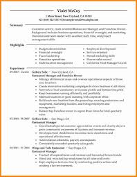 Restaurant Owner Resume Fabulous Restaurant Owner Resume Sample