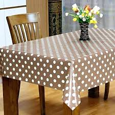 extra wide tablecloths taupe spot vinyl tablecloth a round oilcloth