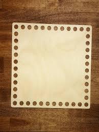 Основа для <b>вязания</b> корзин квадрат 200х200 <b>Березка</b> 8756591 в ...