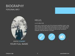 powerpoint biography do you need a presentation about your skills check out this slide