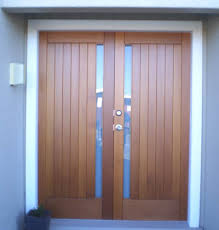 cedar entrance doors