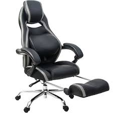 Office reclining chair High Back Office Recliner Black Leather Listamazing How To Choose Reclining Office Chair Yoga Jos Studio