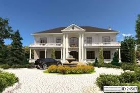 4 Bedroom House Plan   ID 24507