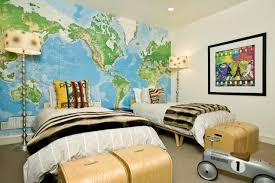 Kids Bedroom Wall Murals Fascinating Suzie Grace Home Design Sweet Boys' Bedroom With Toys R Us World