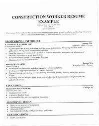 Construction Laborer Job Description For Resume Puky Construction