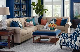 Orange And Blue Living Room Living Room Blue And Orange Coastal Living In Brown And Blue Navy