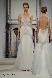 Top Wedding Designers 2014 Pnina Tornai Romantic Mermaid Beaded Wedding Dresses With