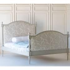 pink upholstered bed. Freya Upholstered Bed-Chinoiserie Oyster Pink-French Gray Pink Bed R
