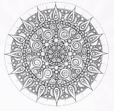 28 Collection Of Complex Mandala Coloring Pages Printable High Best