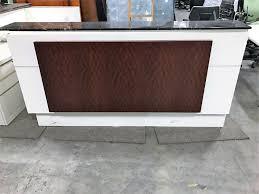 full size of desk used reception desk pre owned reception furniture amazing used reception desk