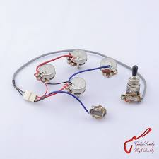 online buy whole 4 wire harness from 4 wire harness original genuine epi lp sg guitar wiring harness for epiphone 1 toggle switch 4 pots