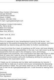 Ed Nurse Cover Letter Sarahepps Com