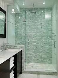bathroom shower glass tile ideas. Interesting Ideas Master Bathroom Sarah Richardson Design Shower Tile Saltillio I Like  The Look Of Only Using Stacked On Back Wall And White Other  Inside Shower Glass Tile Ideas