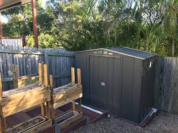 he ordered the shed and within three weeks he had a brand new garden shed erected for him all he had to do was make the call