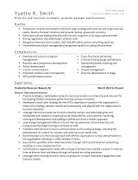 Diversity Trainer Sample Resume