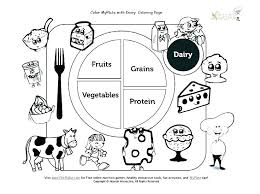 Junk Food Coloring Pages Free Printable Healthy And Best Colo