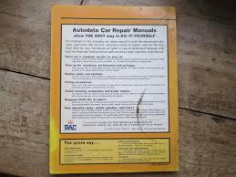 car repair manual 1973 to 1978 autodata 2 of 2 see more