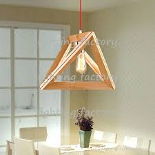 new modern art wooden ceiling light pendant lamp lighting wood chandelier brass lights hanging from factory best hanging ceiling lights