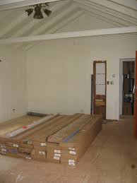hardwood flooring is allowed to acclimate to the environment prior to installation