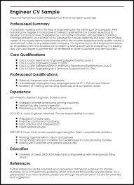 Cv Mechanic Mechanic Apprentice Sample Resume M Labo Co