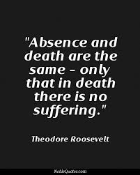 Famous Quotes About Death Extraordinary Famous Death Quotes About Absence Golfian