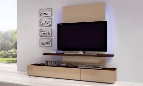 Wall Mount Tv Cabinet Cymun Designs - Bedroom tv cabinets